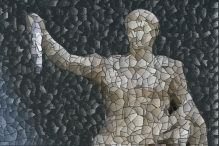 IF blank featured georgia 56 font mosaic