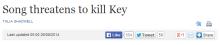 song kill key